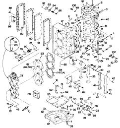 mercury force 85 h p 1988 856x8a powerhead mercury diagram of 85 hp 1988 force outboard 856x8a powerhead diagram and [ 2268 x 2556 Pixel ]