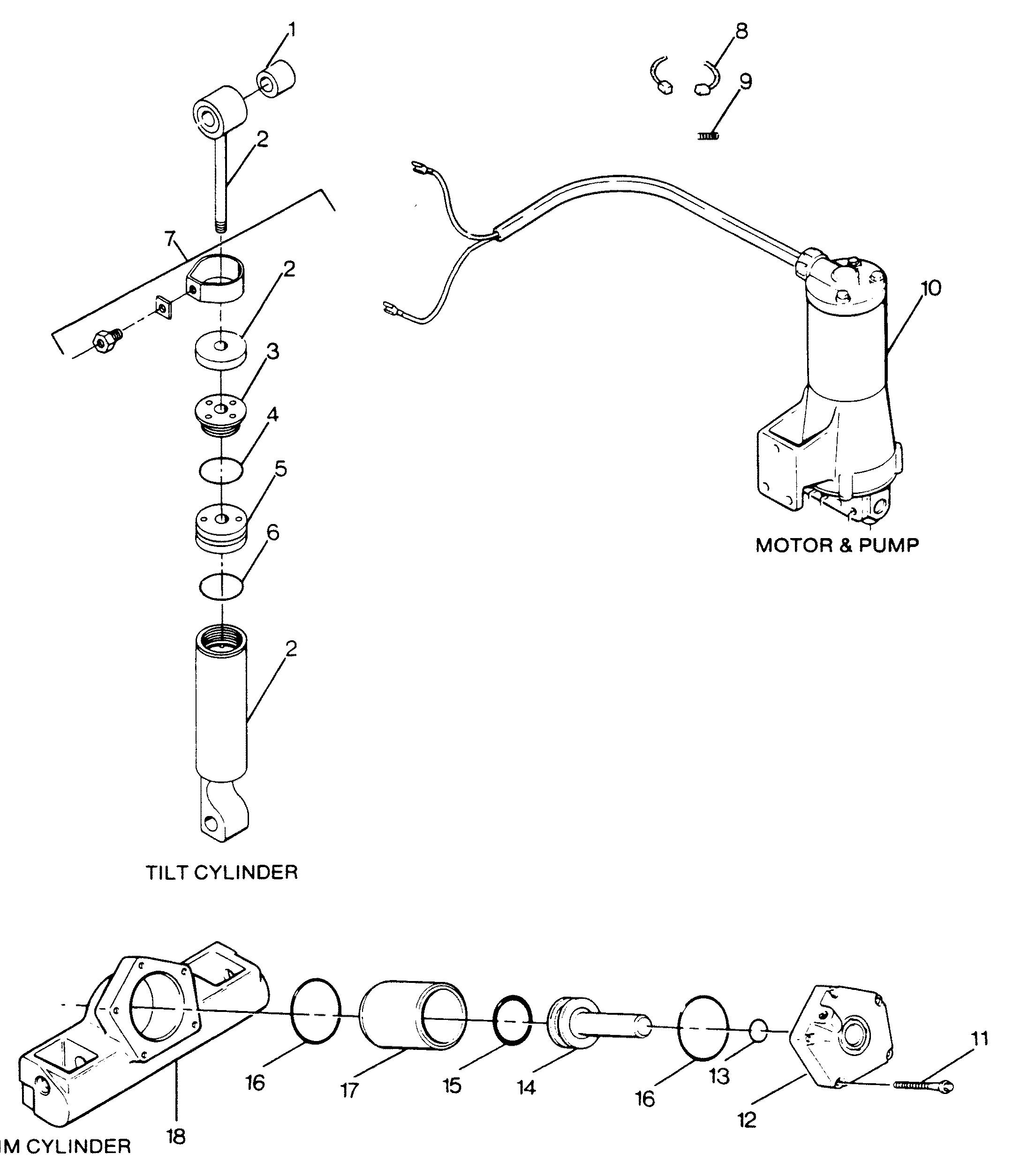 Outboard Motor Parts Breakdown