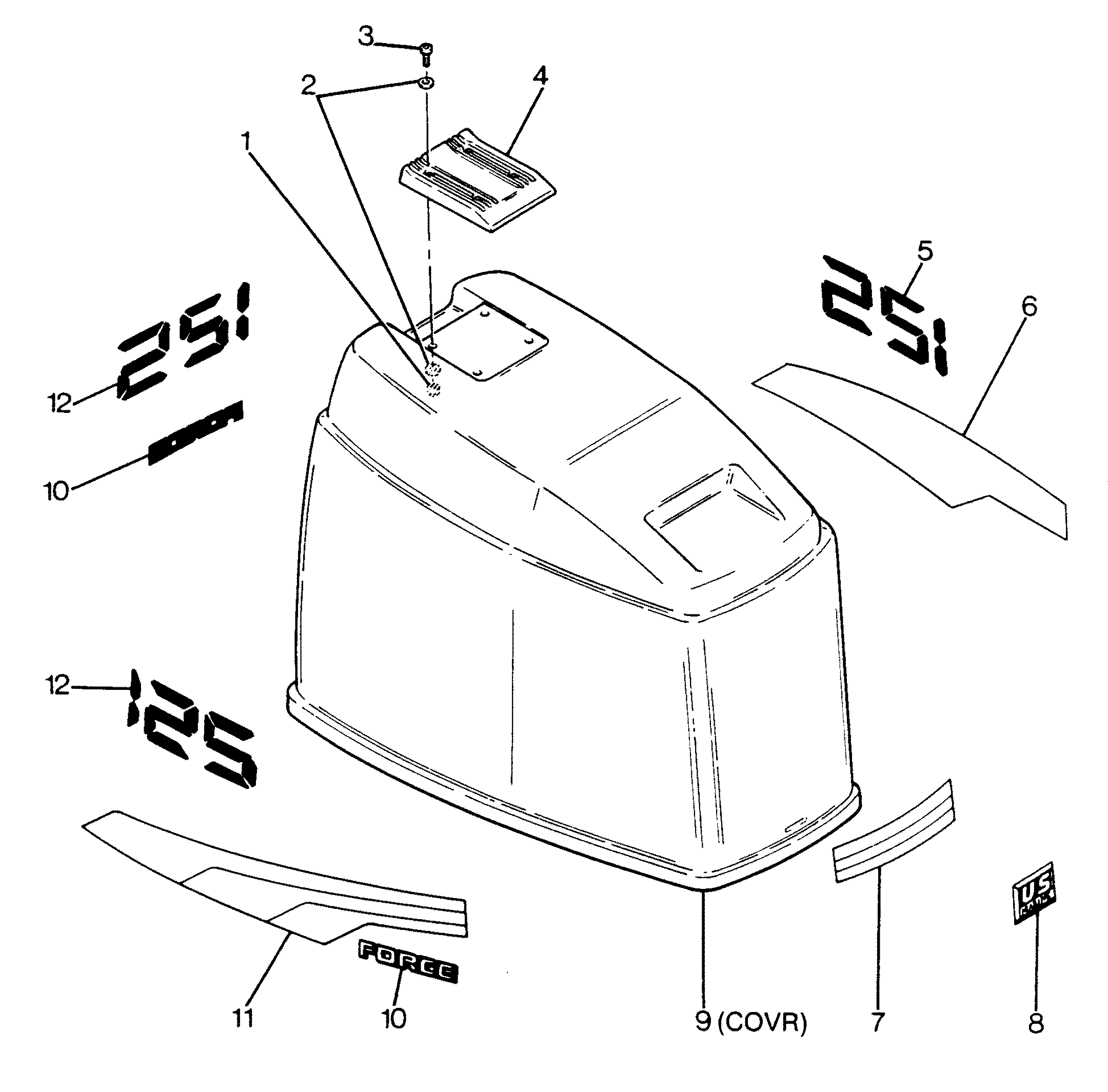 Force 125 Outboard Engine Diagram Fender Hss 1 Push Pull