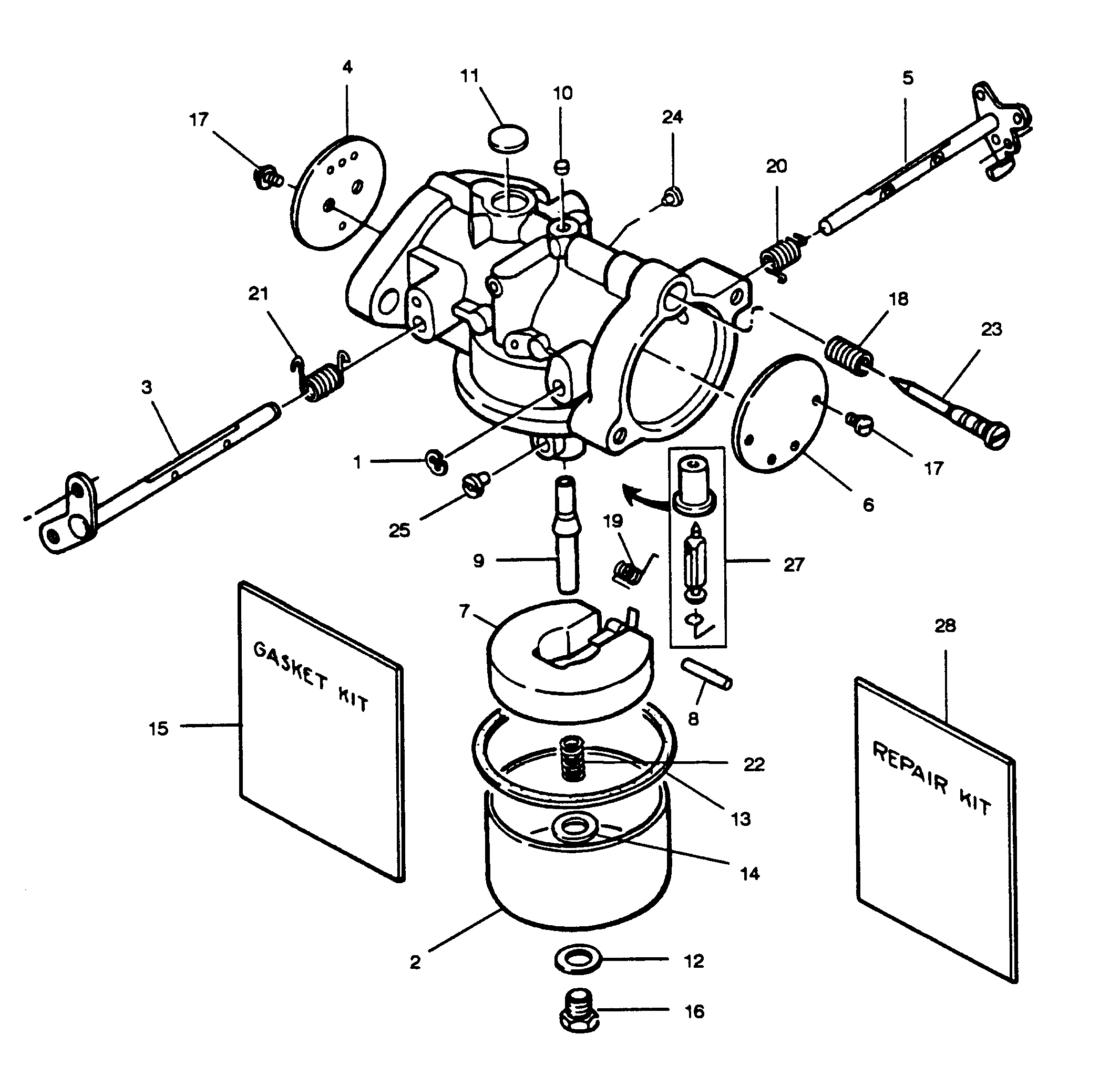1989 Mercury Outboard Engine Parts Diagram • Wiring
