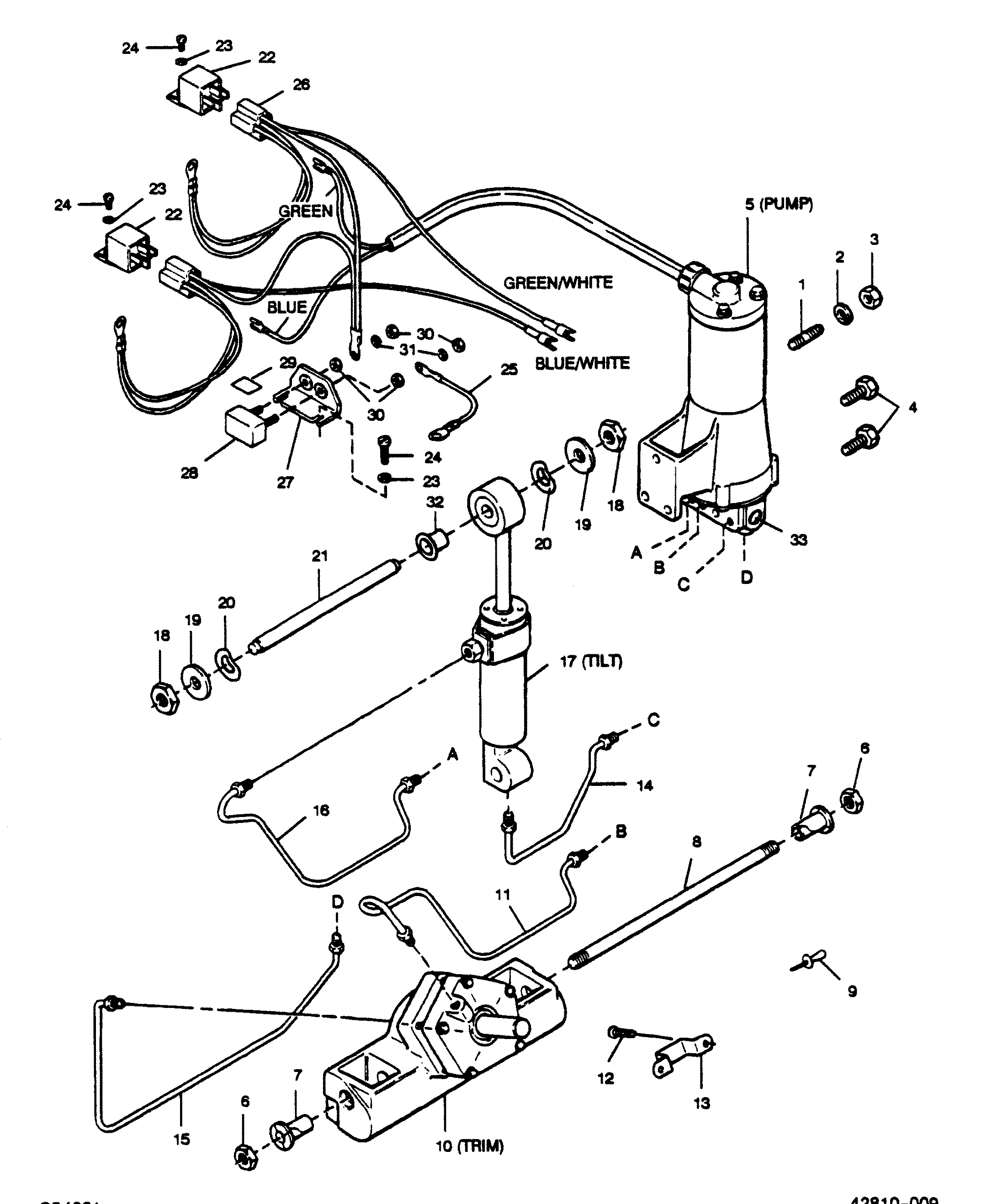 31 Force Outboard Motor Parts Diagram