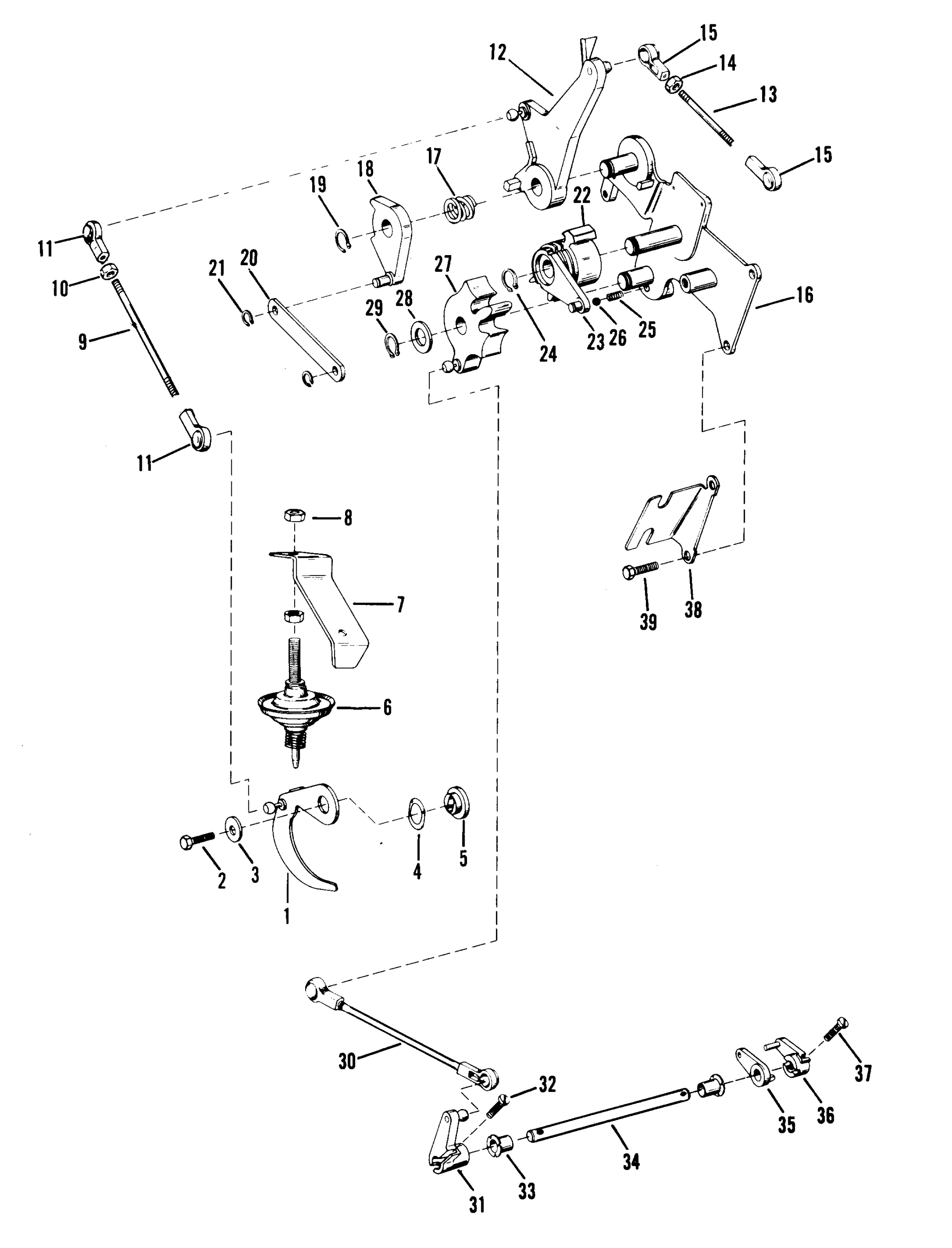 Mercury Outboard Shifter Diagram 2002 Wiring Xr4 Hight Resolution Of Simple Quicksilver Parts 25 2