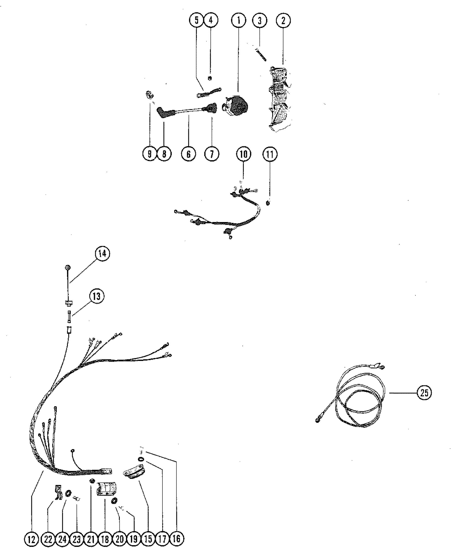 Mercury 115 Wiring Harness