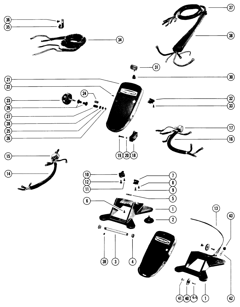 medium resolution of mercury trolling motor thruster 5147772 thru 5516584 wiring 75 mercury outboard wiring diagram mercury thruster wiring diagram
