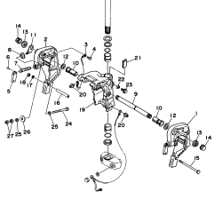 Yamaha Outboard Motor Parts Diagram Light Switch Outlet Wiring Impremedia