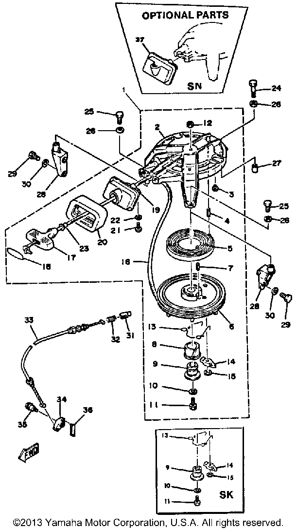 yamaha outboard motor parts diagram eyeshadow application 9 hp 9elk manual starter