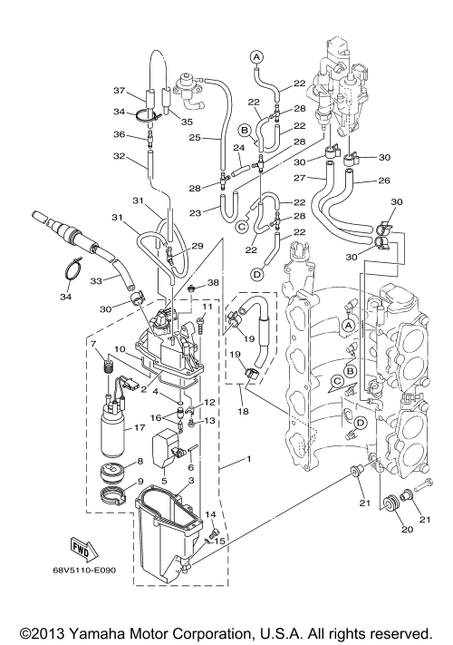 small resolution of diagram of 2001 sx250txrz yamaha outboard fuel injection pump diagram of 2001 sx250txrz yamaha outboard fuel injection pump diagram