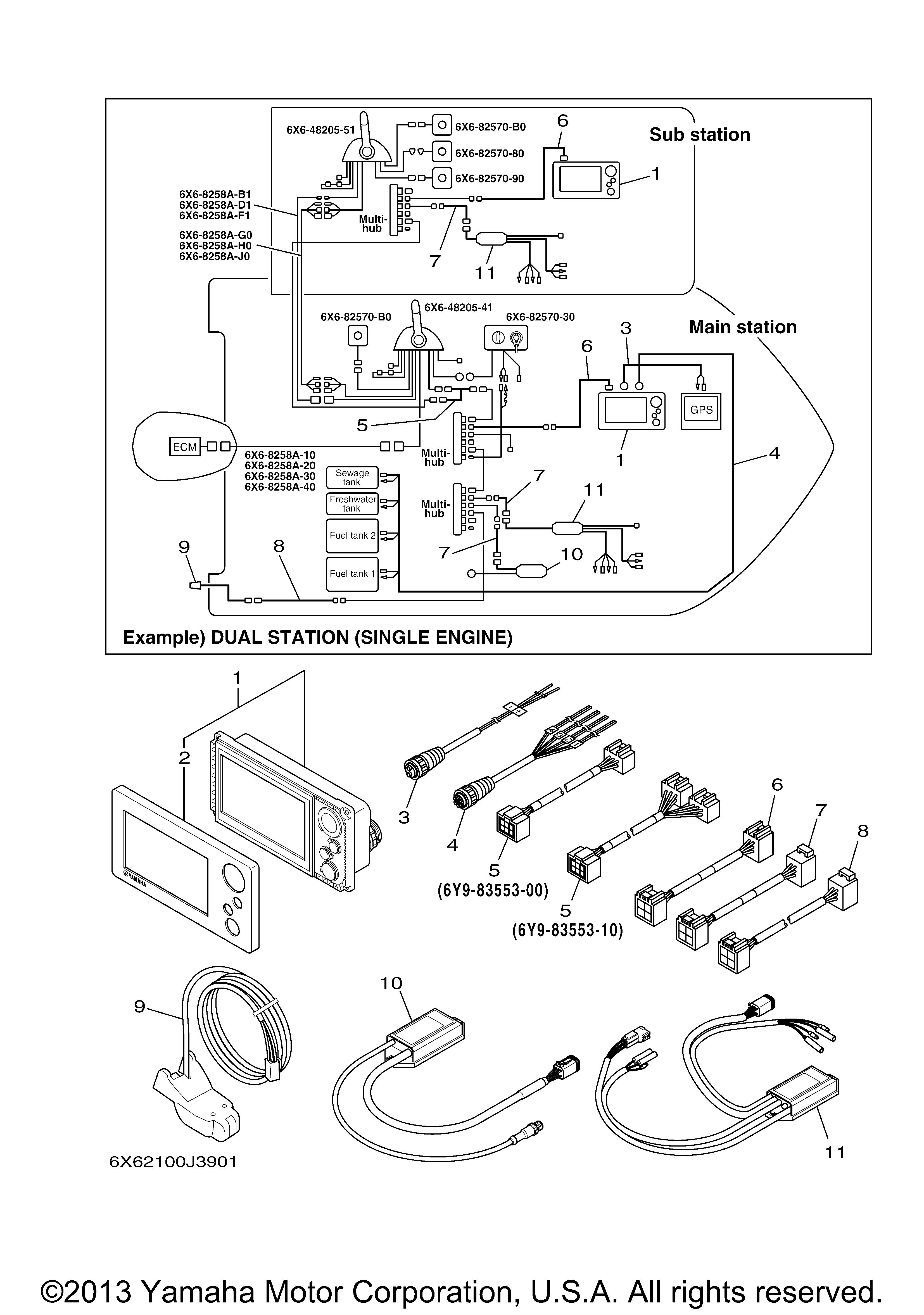 Yamaha Command Link Gauge Wiring Show Diagram Of Power