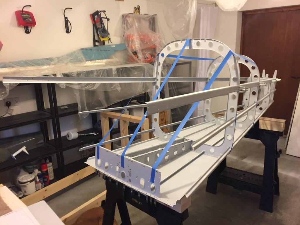 Aft fuselage