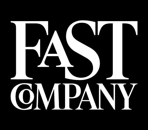 FastCompany logo (white text on black background)