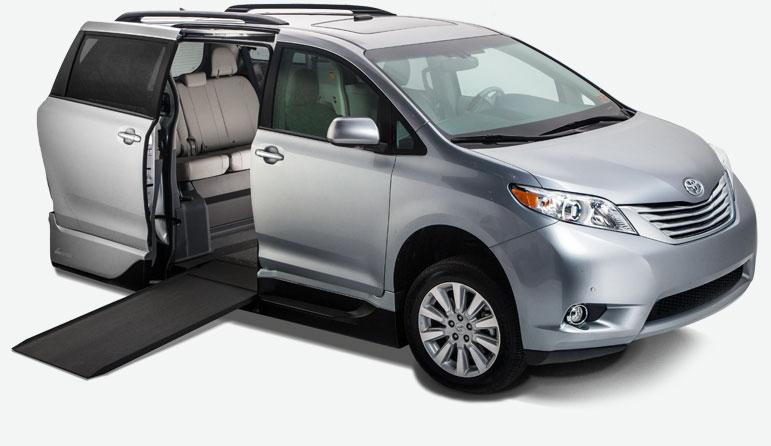 VMI Toyota Sienna Handicap Vans  Wheelchair Vans for Sale