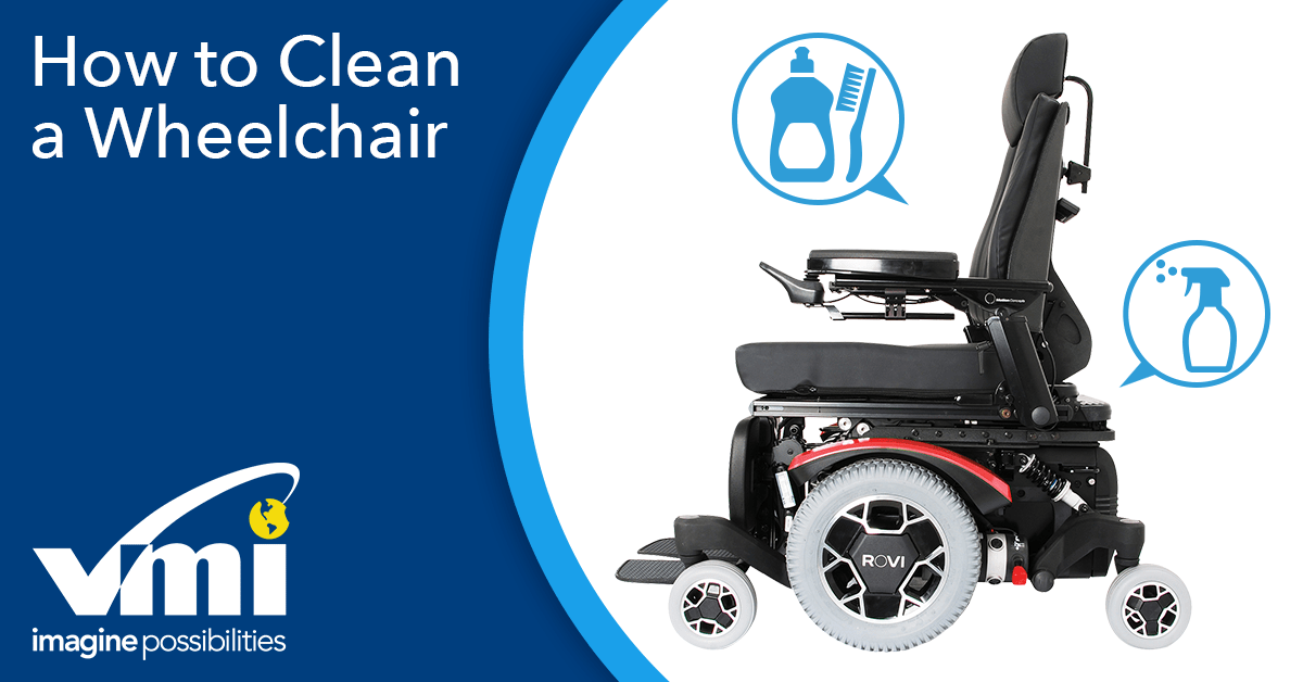 How to Clean your Power Chair or Wheelchair