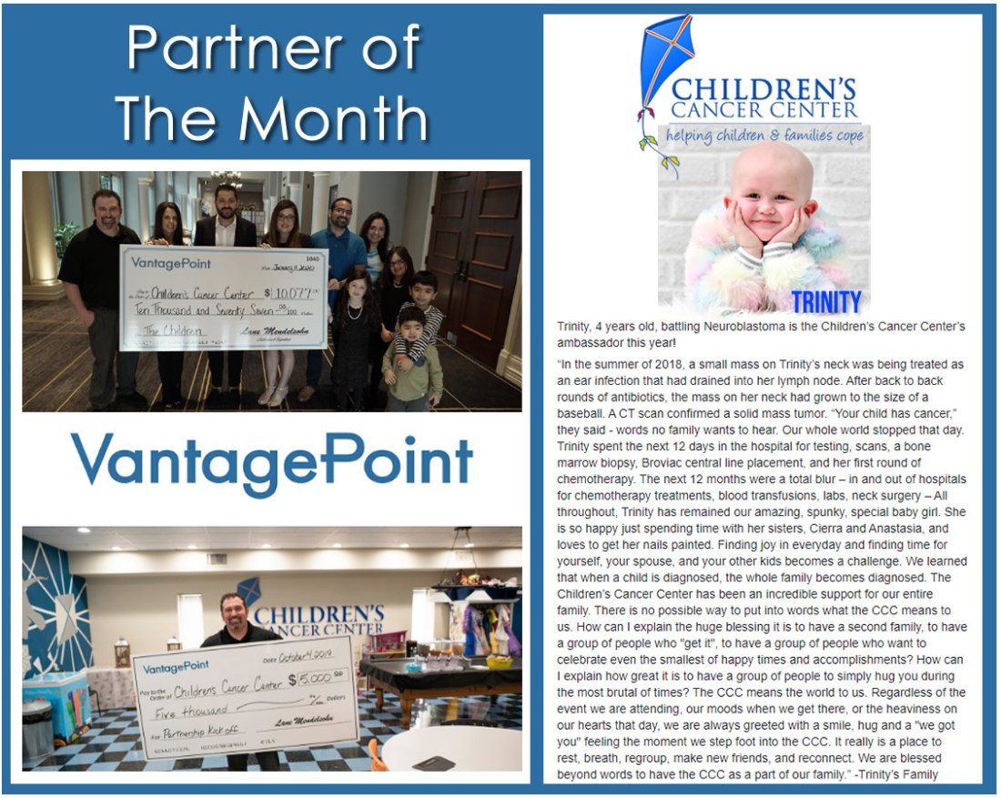 Vantagepoint is Partner of the Month