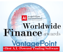 VantagePoint AI Software named Best AI Powered Trading Platform