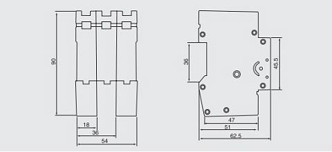 5SX MCB, Mini Circuit Breaker--Vanto Industrial Group