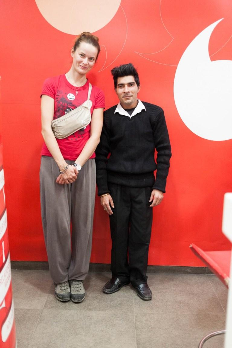 Ivanka ve Vodafone
