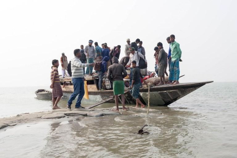 Zetky na palubě loďky