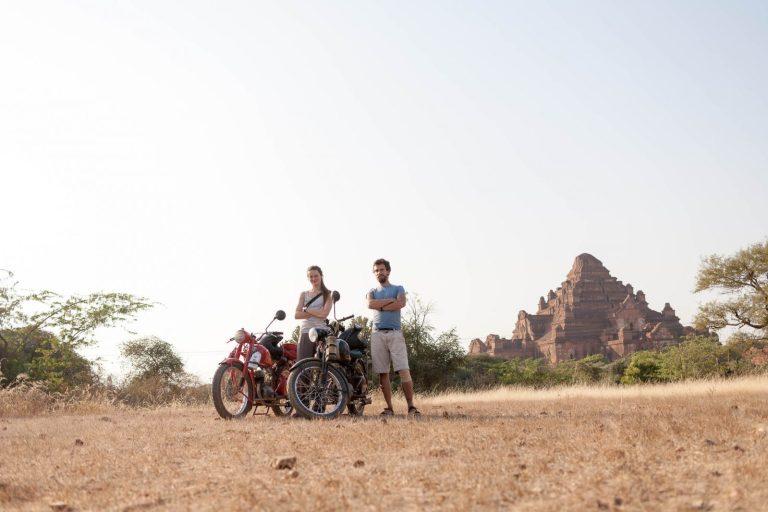 Čezety a jejich piloti v Baganu