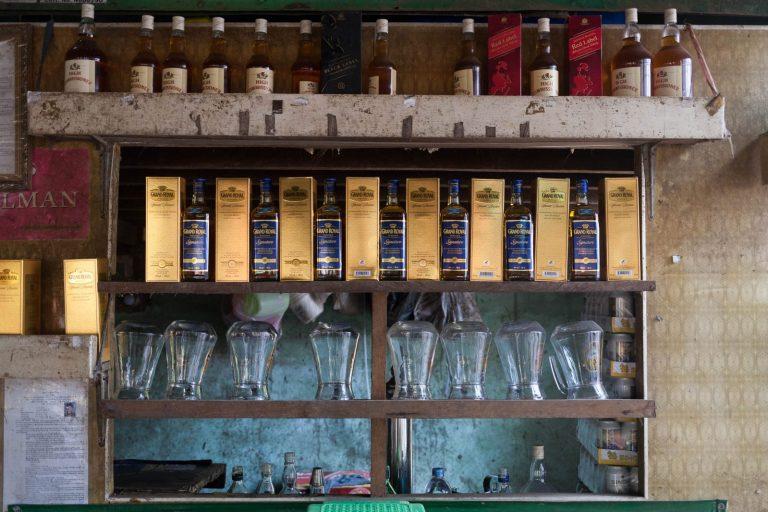 Bar na ostrově Bilugyun