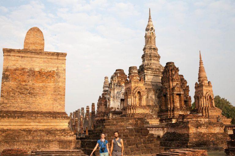Ořízlá fotka v Sukhothai