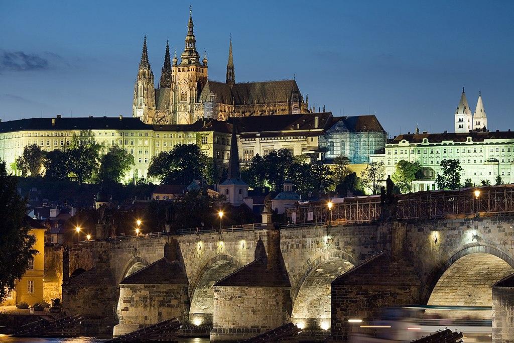 Chateau De Prague Emblmatique Et Incontournable