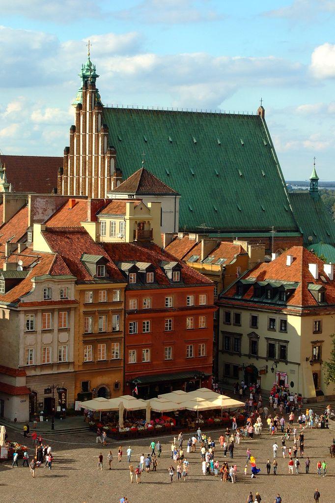 Cathdrale Gothique De Saint Jean Varsovie Vieille