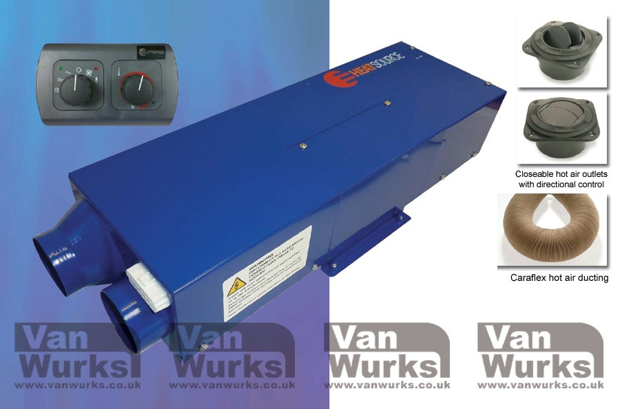 Propex HS2000e Heater Single Outlet - VanWurks VW Camper Interiors