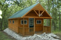 Small Cabin Plans With Loft And Porch