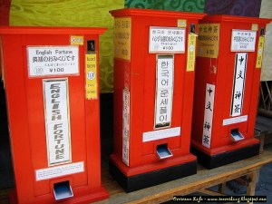 Fortune Telling Machine for various Languages
