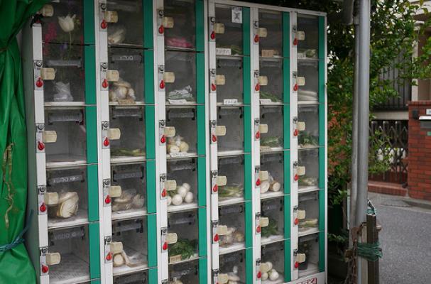 蔬菜 自動販賣機