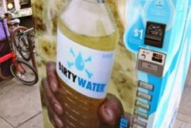 Dirty Water Vending Machine