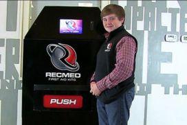 First Aid Vending Machine