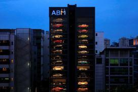 Singapore vending machine dispenses Ferraris and Lamborghinis