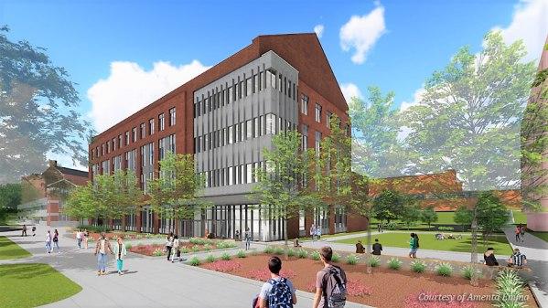 Engineering Building - Rendering