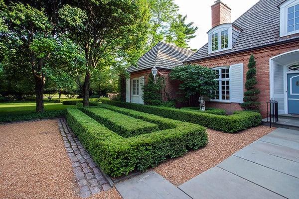 winnetka red brick paver patio