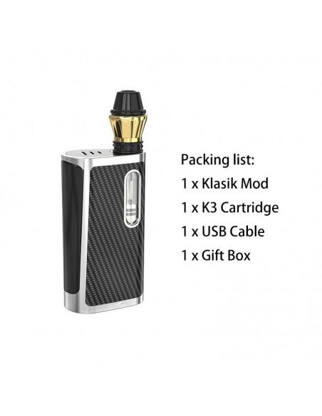 Kangvape Klasik Kit: 510 Thread CBD Vape Box Mod 650mah