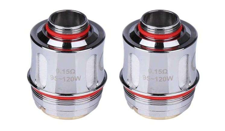 Uwell Valyrian Clearomizer Replacement Coil Head (2-Pack) – £4.24