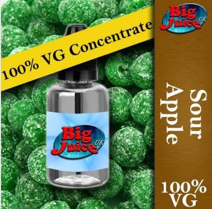 100% VG Concentrates – 50ml – £2.99 at Big Juice UK