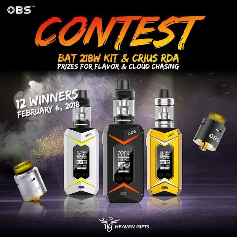 Facebook OBS Bat 218 mod giveaway