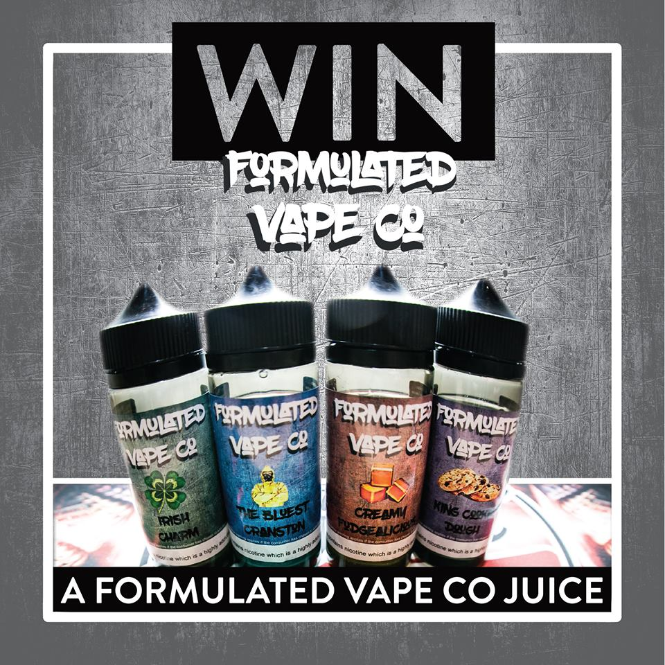 Want to WIN some free Formulated Vape Co Juice?