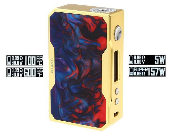 VooPoo Drag X007-a 157W Box Mod – £29.63 – £33.99