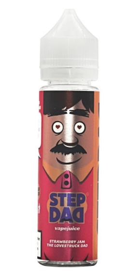 Step Dad Strawberry Jam 60ml Shortfill – £8.25
