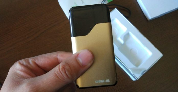 Suorin Air in gold