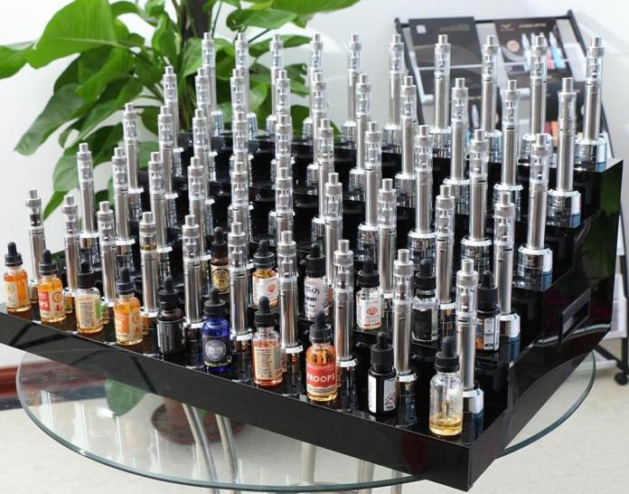 E-juice tasting station