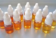 DIY e-liquid bottles