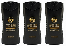 Axe Gold Temptation Douchegel Voordeelverpakking 3x250ml