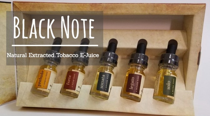 Tasting the Difference: Black Note Tobacco E-Juice