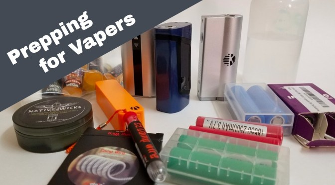 A Vaper's Guide to Prepping for a Natural Disaster