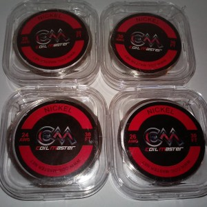 Coil Master Nickel Wire/30AWG/10M