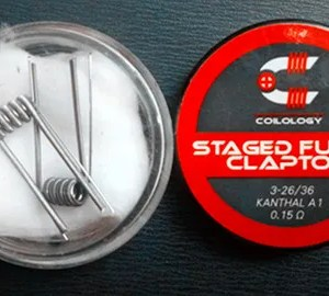 COILOLOGY STAGED FUSED CLAPTON